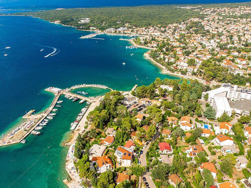 Horvátország kikötői
