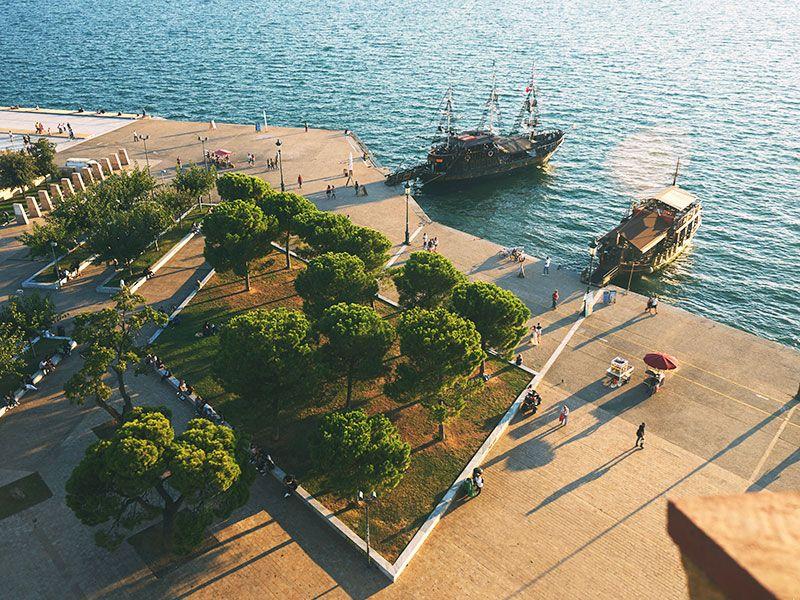 Hajóbérlés Thessalonikiben