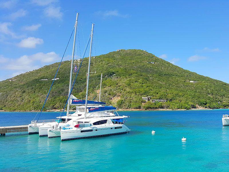 Yacht week in Tortola
