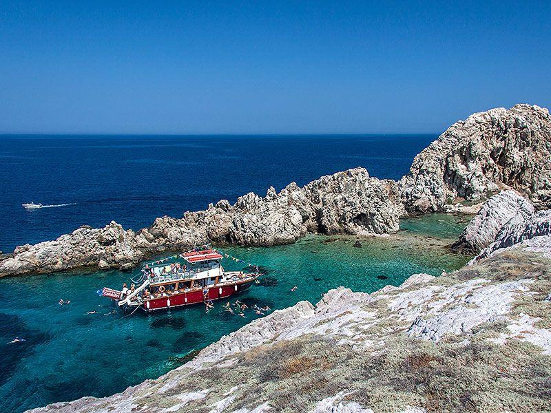 Boating in Antiparos