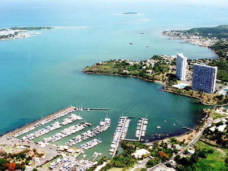 Kikötők Puerto Ricoban
