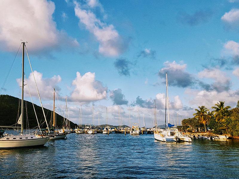 Kikötők Saint Thomason