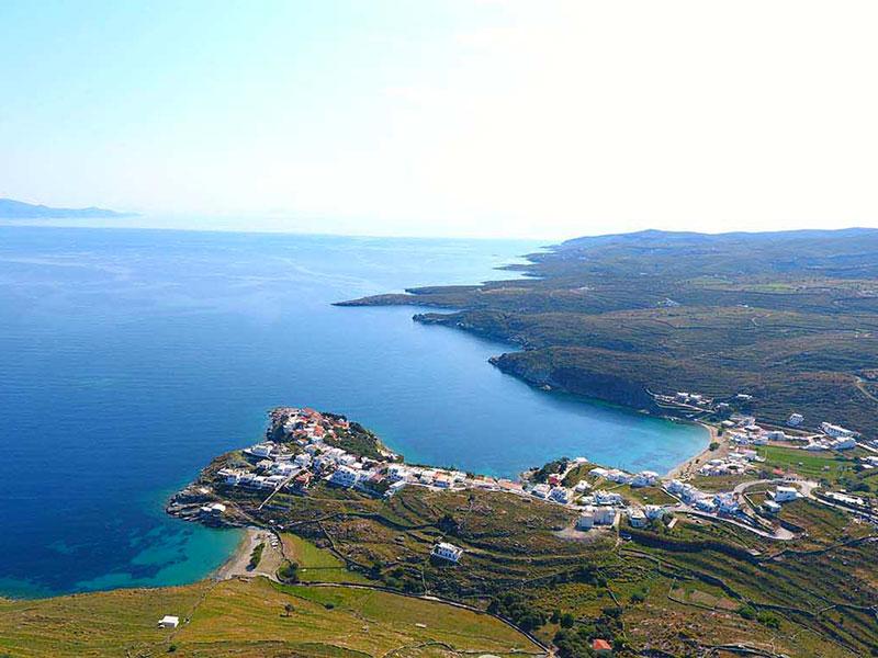 Coasts and bays in Naxos