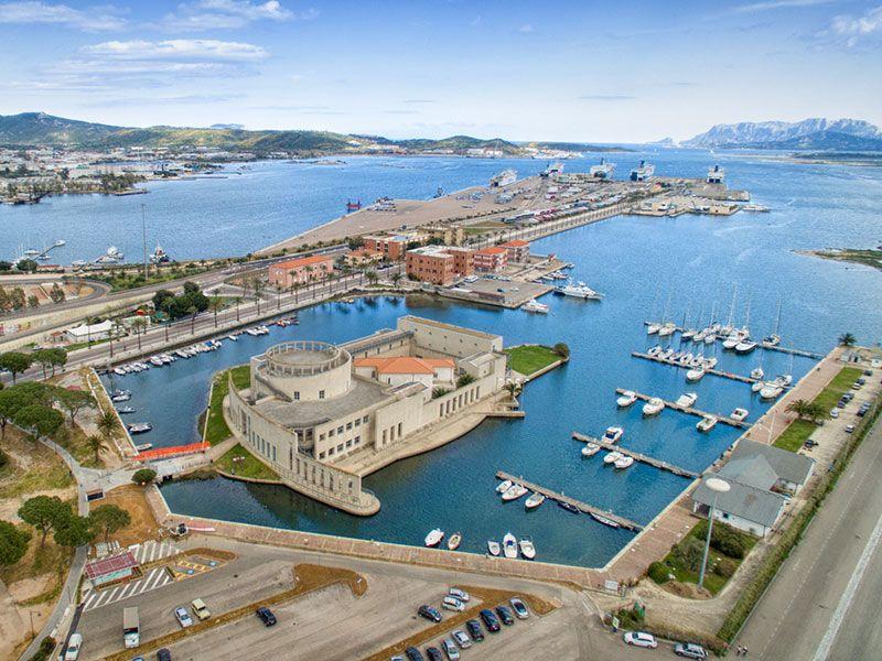 Kikötők Olbiaban
