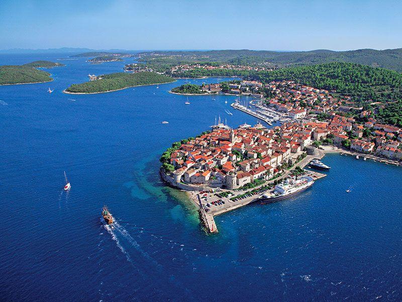 Programok Korčula-szigeten