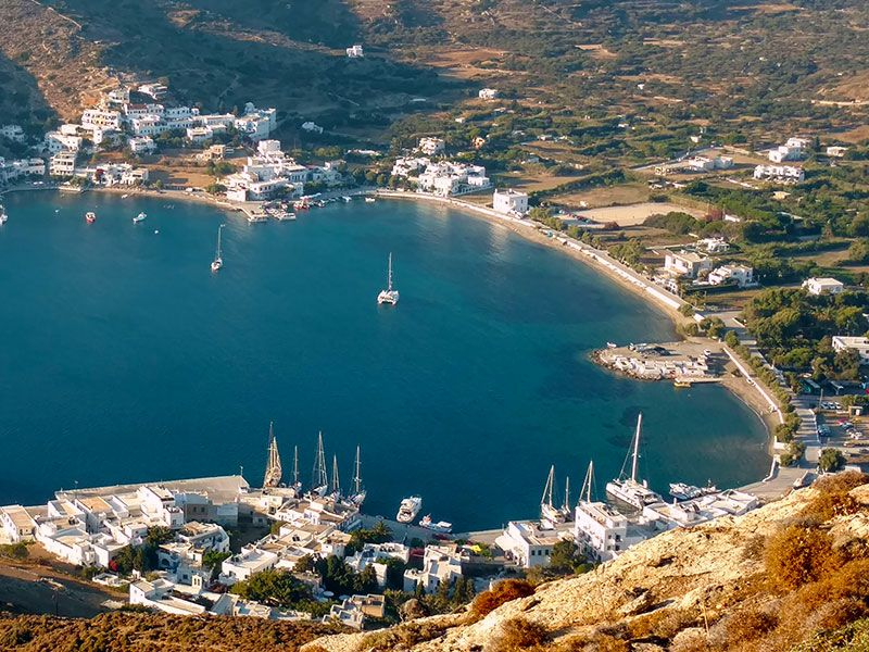 Amorgos yacht week
