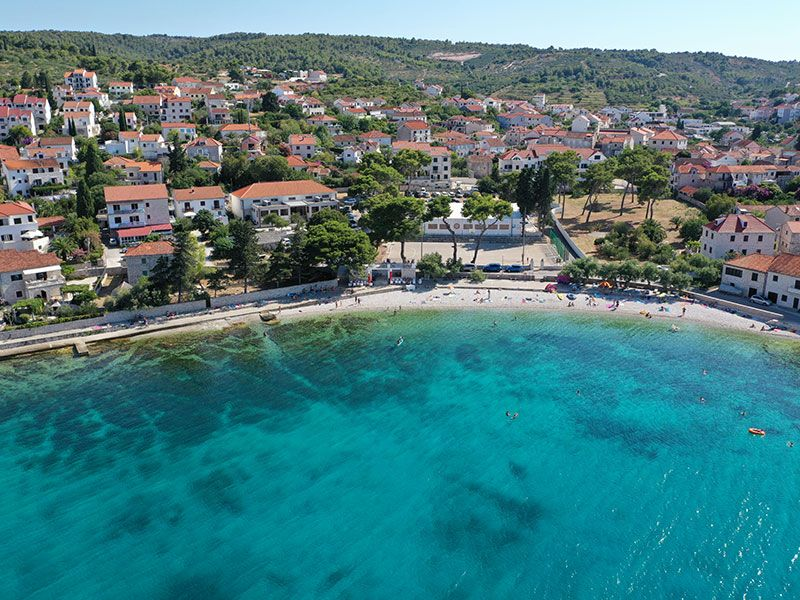 Partok és szigetek Marina közelében