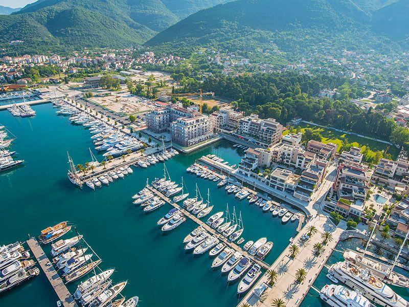 Hajóbérlés Montenegróban