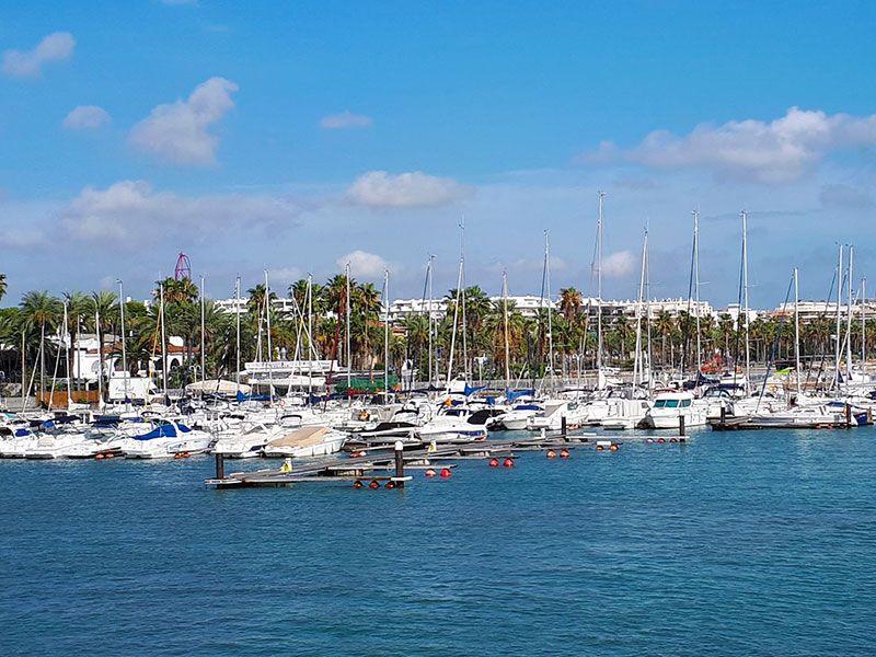 Marina in Salou