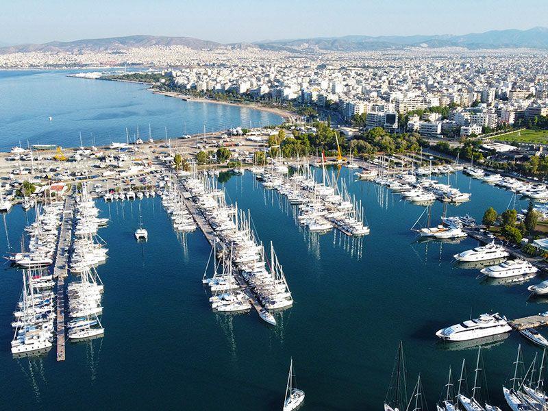 Kikötők Athén környékén