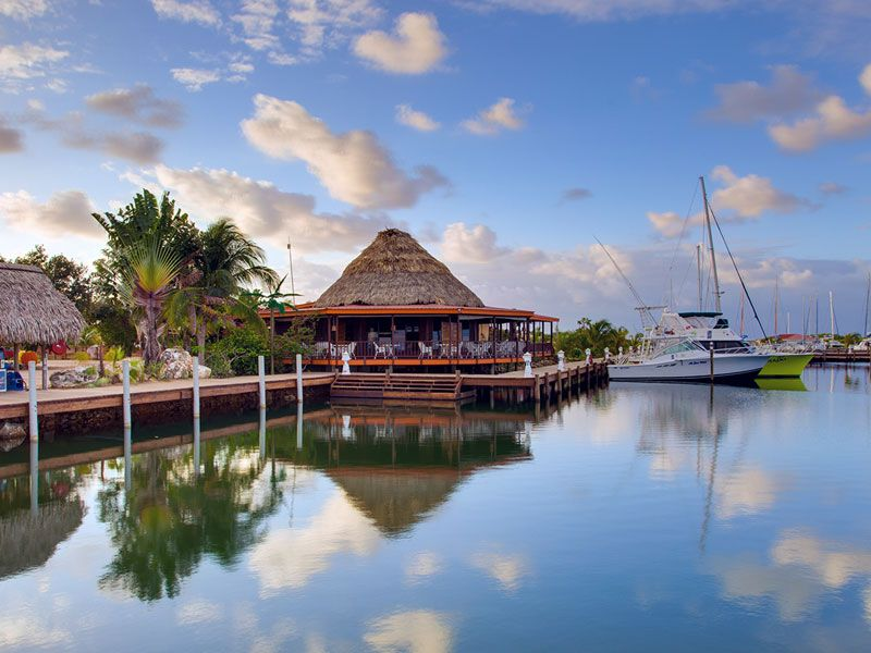 Yacht week in Placencia