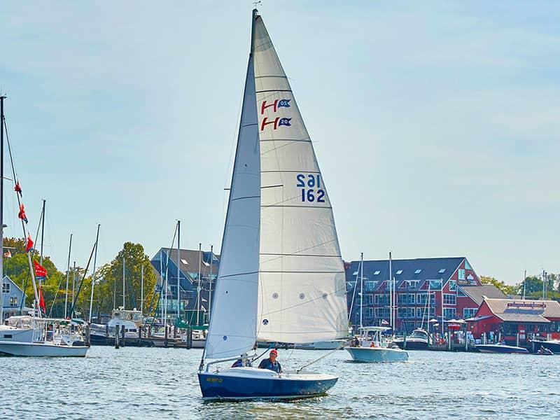 Hajóbérlés Annapolisban