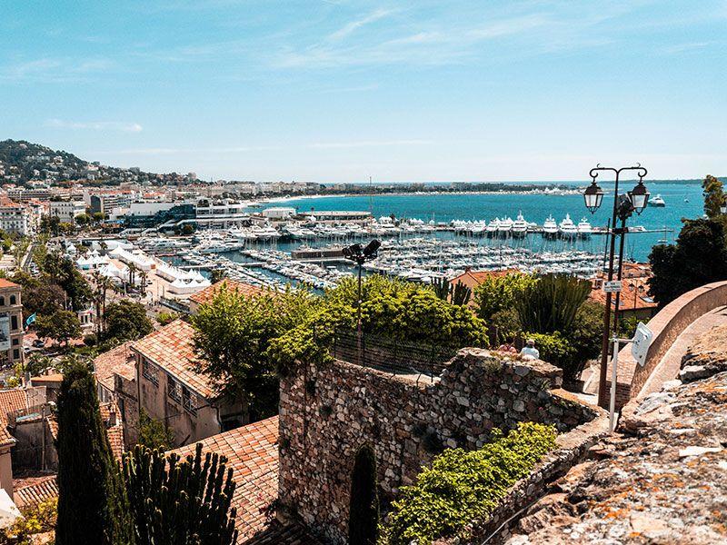 Hajóbérlés Cannes-ban