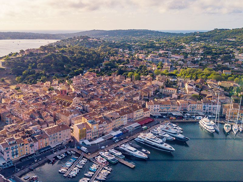 Hajóbérlés Dél-Franciaországban