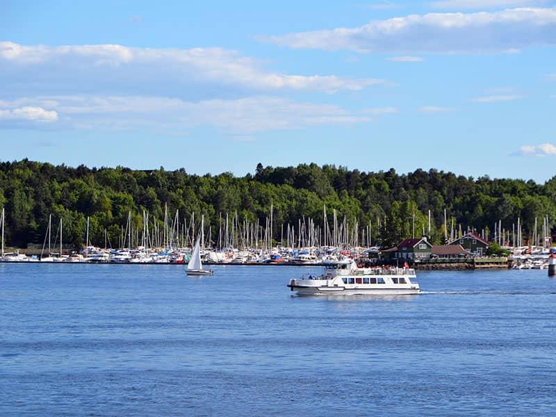 Hajóbérlés Osloban