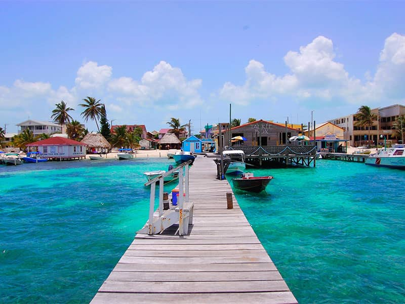Yacht week in Belize
