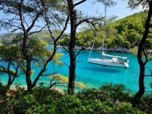 Hajós nyaralás Skopelos
